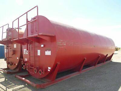 Round Skid Tank